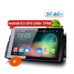 """Erisin ES8896B 9"""" Android 8.0 Car Stereo GPS Navigation System DAB+ 4G for BMW E46 M3 3er 318 320 Rover 75 MG ZT"""