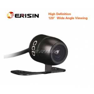 Erisin ES580 Water-proof Mini 120 Viewing Color CCD Reverse Rear View Camera Guide Line