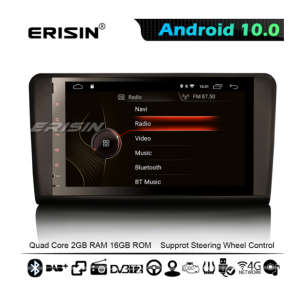 """Erisin ES4294L 9"""" Android 10.0 OS Car Stereo GPS 4G TPMS DAB+ Apple CarPlay DSP for Benz ML-Class W164 GL-Class X164"""