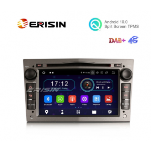 """Erisin ES6960PG 7"""" Android 10.0 Car DVD RDS BT GPS 4G WiFi DAB+ Radio for Opel Combo Meriva Signum Astra"""