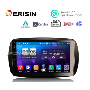 Erisin ES8799S 9 Android 10 Auto Multimedia System CarPlay  Auto GPS Radio DSP TPMS DAB for Mercedes Benz SMART